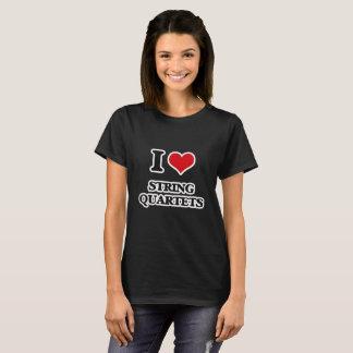 Camiseta Amo los cuartetos de cuerda