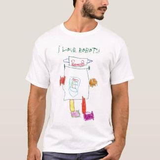 Camiseta ¡Amo los robots!