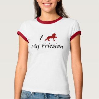 Camiseta Amo mi frisio