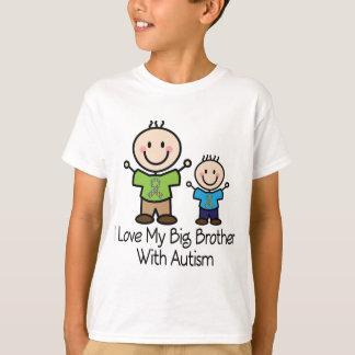 Camiseta Amo mi hermano mayor con autismo