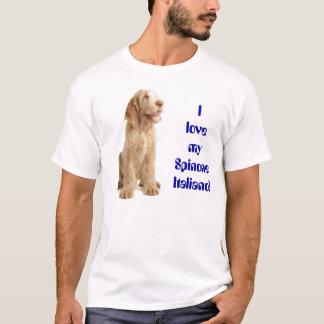 """Camiseta - """"amo mi Spinone… """""""