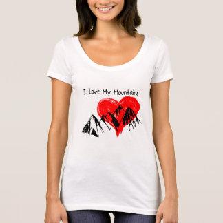 Camiseta ¡Amo mis montañas!