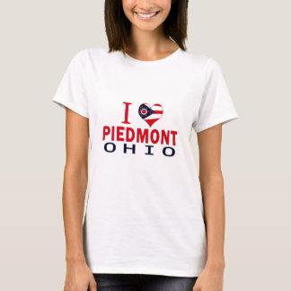 Camiseta Amo Piamonte, Ohio