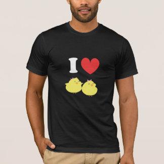 Camiseta Amo polluelos gordos