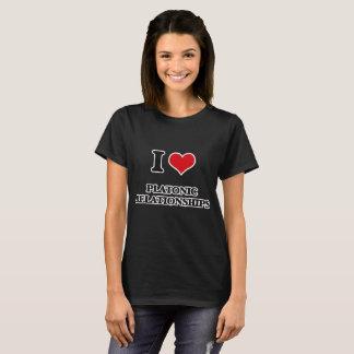 Camiseta Amo relaciones platónicas