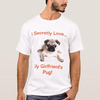 Camiseta ¡Amo secretamente mi barro amasado de las novias!