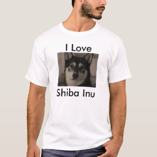 Camiseta Amo Shiba Inu