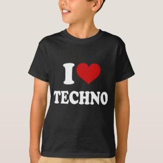 Camiseta Amo Techno