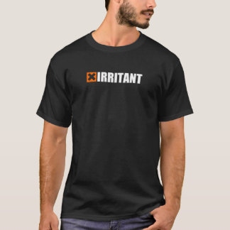 Camiseta amonestadora química irritante