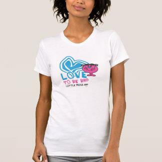 Camiseta Amor a ser mún corazón deformado el  