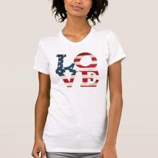 Camiseta Amor americano