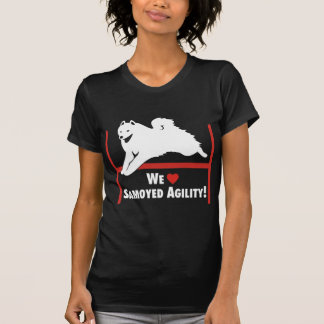 Camiseta Amor de la agilidad del samoyedo