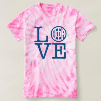 Camiseta Amor de la alfa de la phi de la theta