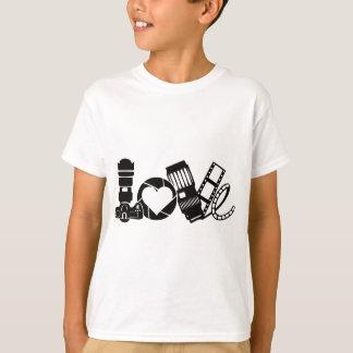 Camiseta Amor de la cámara