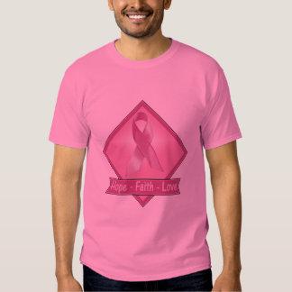 Camiseta - amor de la fe de la esperanza