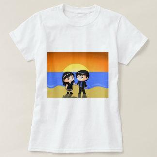 Camiseta Amor de la puesta del sol