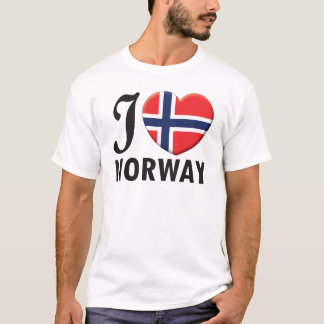 Camiseta Amor de Noruega
