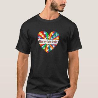 Camiseta Amor de Terrier de mojón