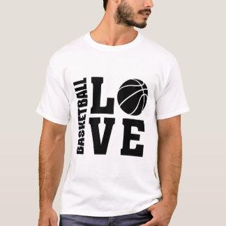 Camiseta Amor del baloncesto, baloncesto