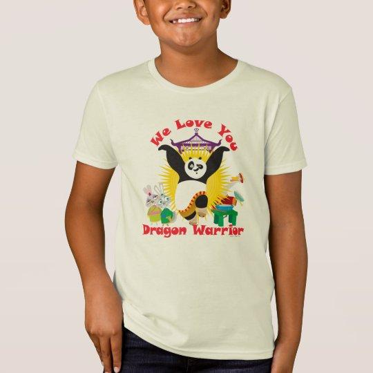 Camiseta Amor del guerrero del dragón