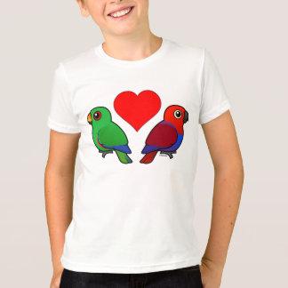 Camiseta Amor del loro de Eclectus