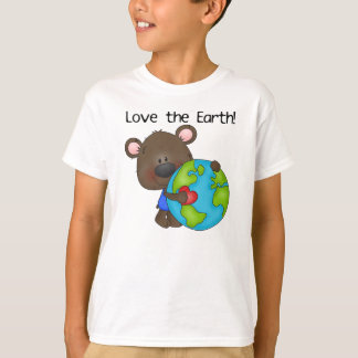 Camiseta Amor del oso la tierra