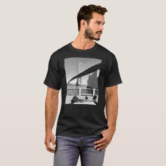 Camiseta Amor del puente de la bahía