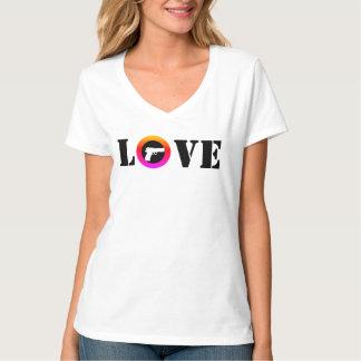Camiseta AMOR en color