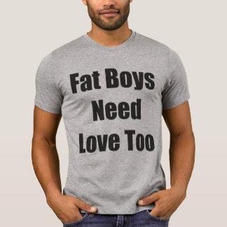 Camiseta Amor gordo del muchacho