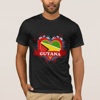 Camiseta Amor Guyana del vintage I