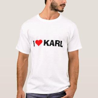 Camiseta Amor Karl