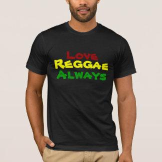 Camiseta Amor, reggae, siempre