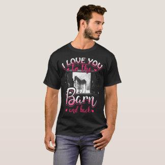 Camiseta Amor y deporte del montar a caballo