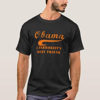 Camiseta anaranjada del amigo del terrorista de