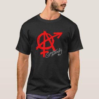 Camiseta Anarquía del género (impresión delantera) - obra