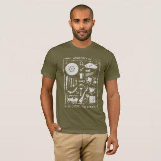 Camiseta Anatomía de un camión terrestre