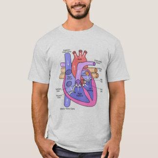 Camiseta Anatomía de un corazón solo