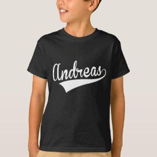 Camiseta Andreas, retro,
