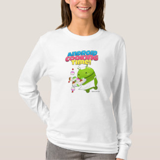 Camiseta Android Cooking Time Shrit