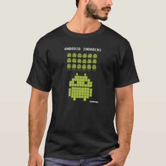 Camiseta Android Invaders