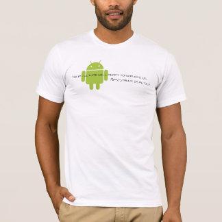 Camiseta Androide-borg