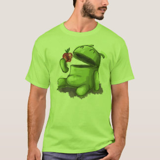 Camiseta Androide hambriento