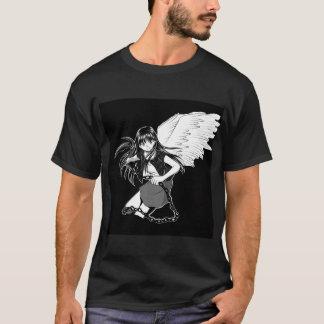 Camiseta Ángel puesto a tierra: Doble negro