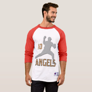 Camiseta Ángeles de Chino Hills 3/4 raglán de la manga