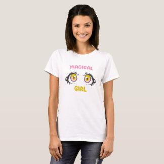 Camiseta Animado mágico del chica - el animado observa/el