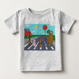 Camiseta animal 4 del paso de peatones