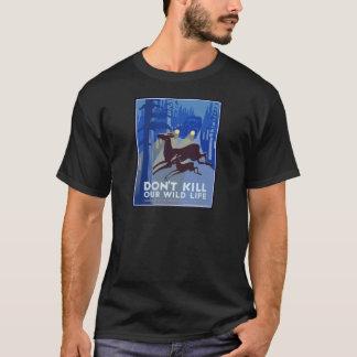Camiseta Animal de la fauna del vintage