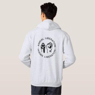 Camiseta animal de la liberación