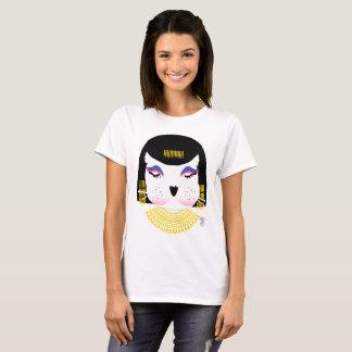 Camiseta animal del gráfico de Cleopatra de la