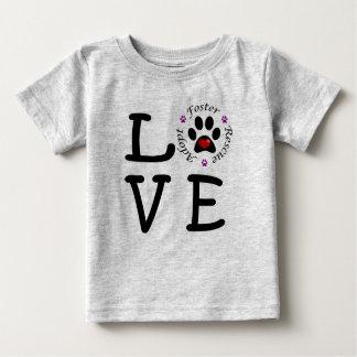 Camiseta animal del jersey de la multa del bebé